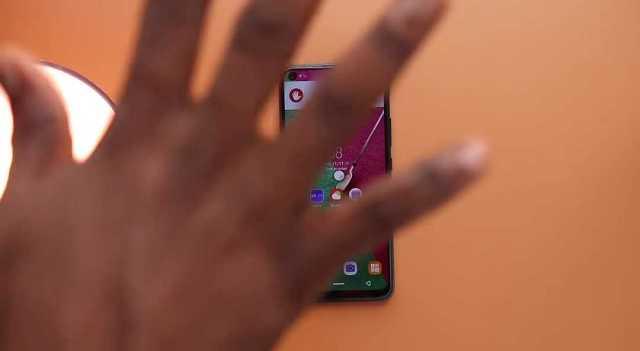 Infinix S5 reject call gesture