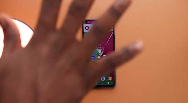 Infinix S5 reject call gesture