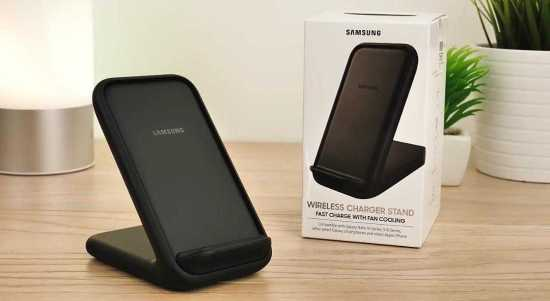 Samsung 15W wireless charging stand