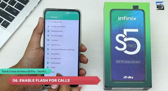 Infinix S5 Pro tips and tricks