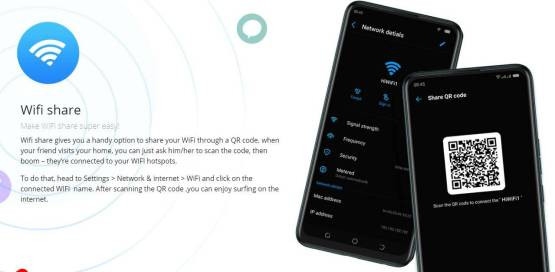 Android 10 wifi sharing