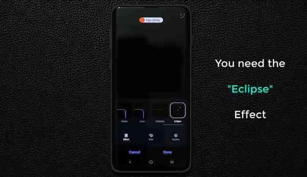 Samsung Galaxy A51 notification LED