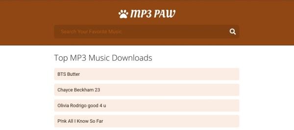 Mp3paw (Mp3 Paw)