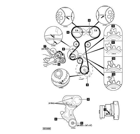[Corsa B] x14xe timing belt