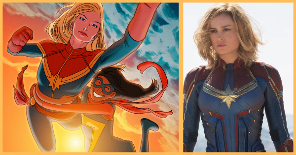 IMDB Listing Supports a Captain Marvel Appearance in 'Ms. Marvel'