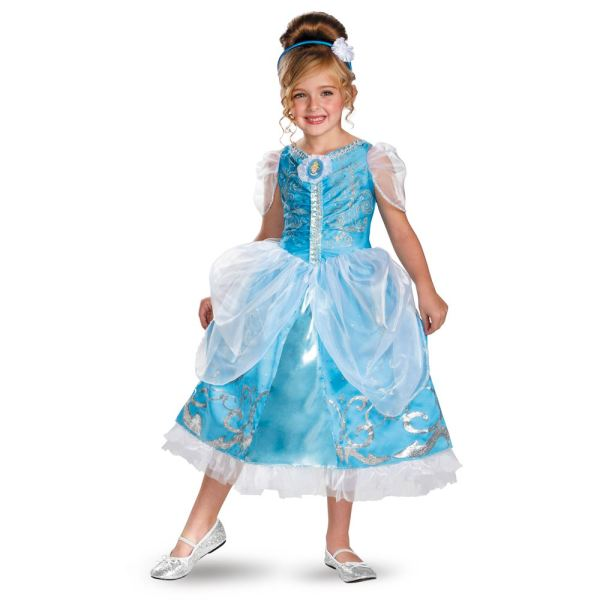Kids Disney Princess Cinderella Girls Costume 24.99 Land