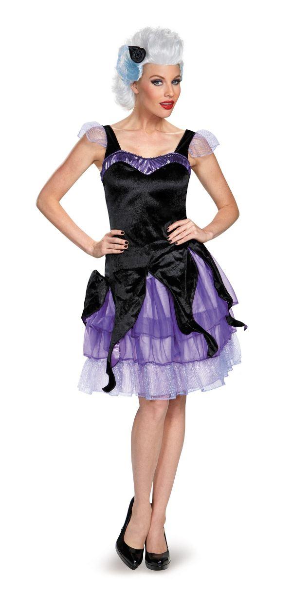 Adult Ursula Disney Woman Deluxe Costume 48.99