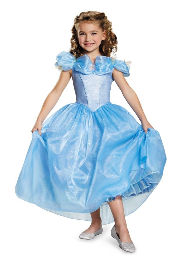 Cinderella Movie Prestige Girls Princess Halloween Costume 87.99 Land