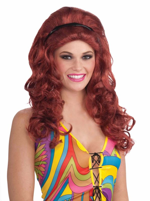 Adult 60s Ruby Women Wig 16.99 Costume Land