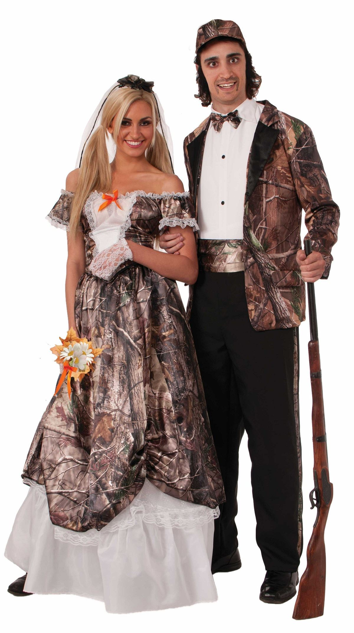 Adult Hunting For Love Bride Women Costume 3586 The Costume Land