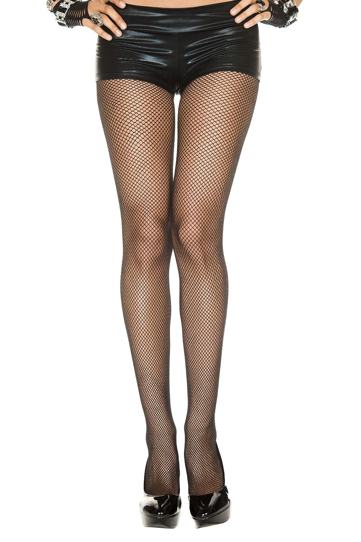 Adult Black Fishnet Seamless Pantyhose  499  The Costume Land