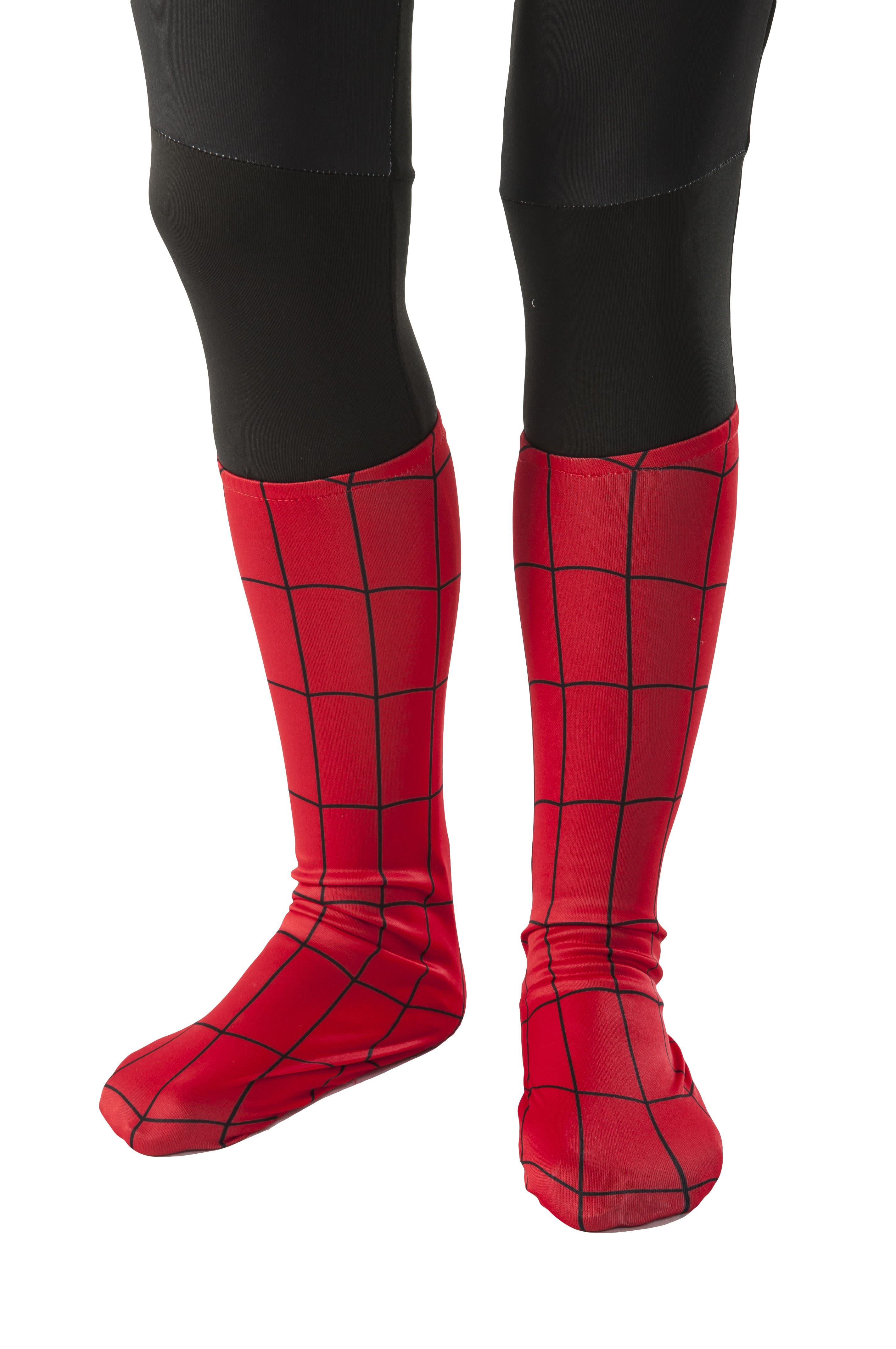 Kids Spider Man Boot Covers 999 The Costume Land