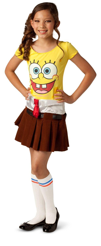 spongebob halloween costume   cartoonview.co