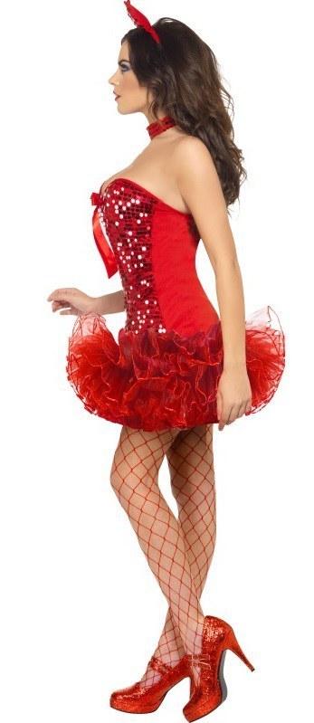 Sequin Red Devil