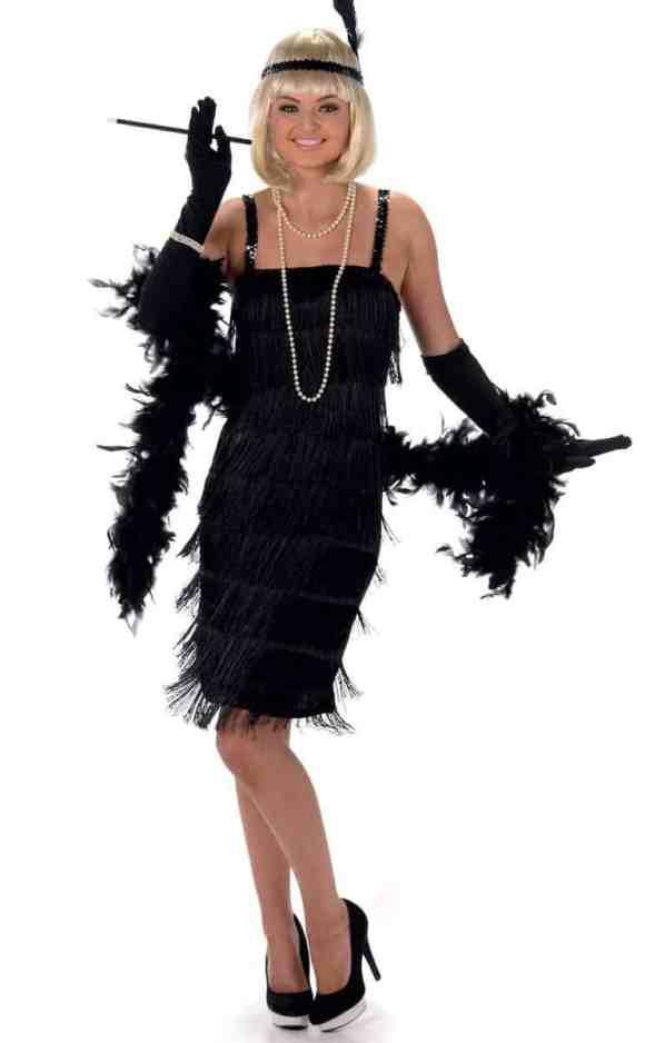 Flapper Plus Size Costume