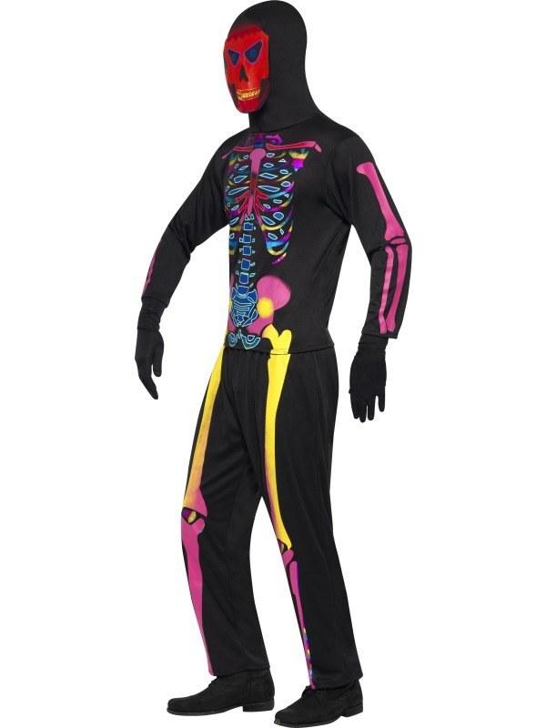 Adult Neon Skeleton Costume