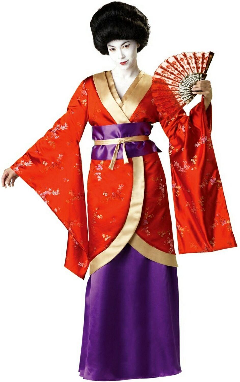 Elite Geisha Fancy Dress Costume
