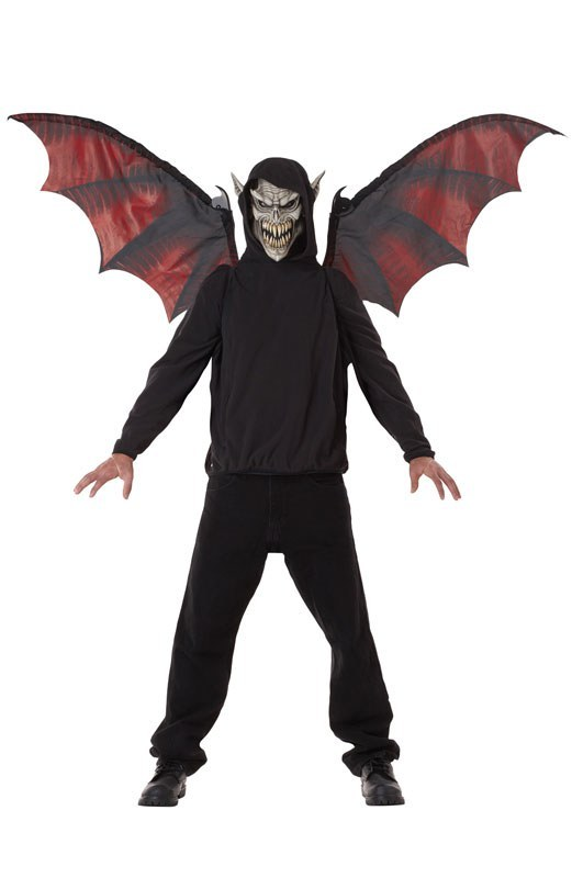 Vampire Wings And Mask