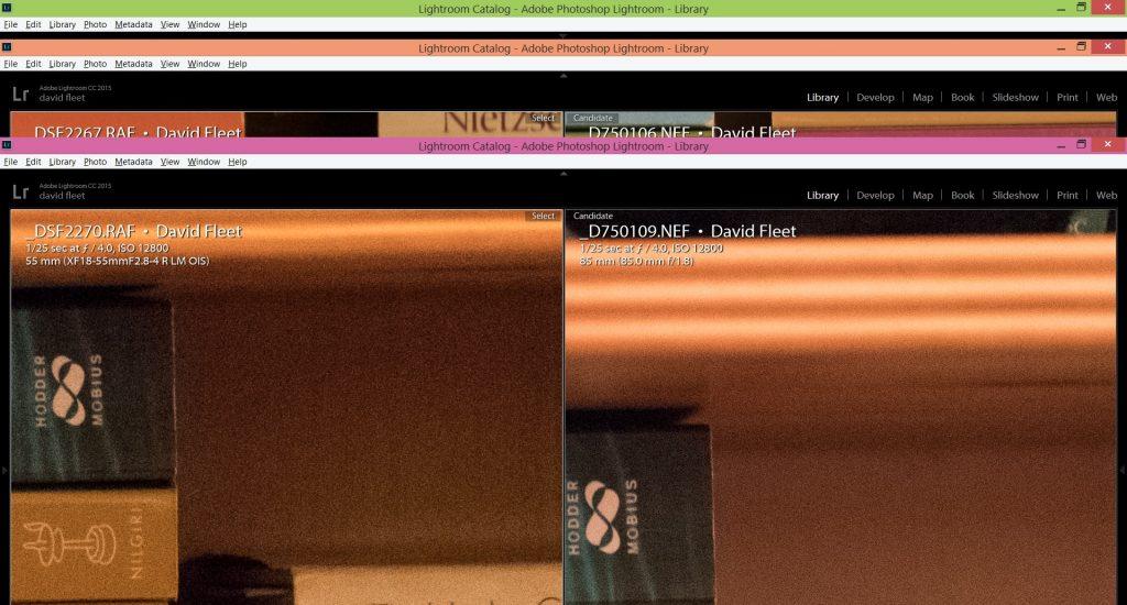 fuji xt2 and nikon d750 iso 12800 image examples
