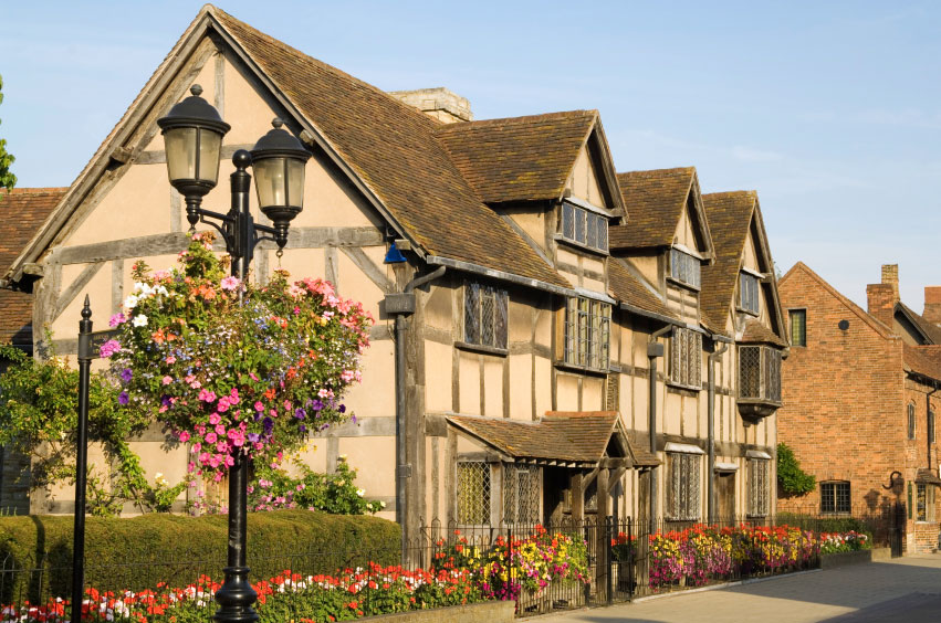 Image result for stratford upon avon shakespeare's house