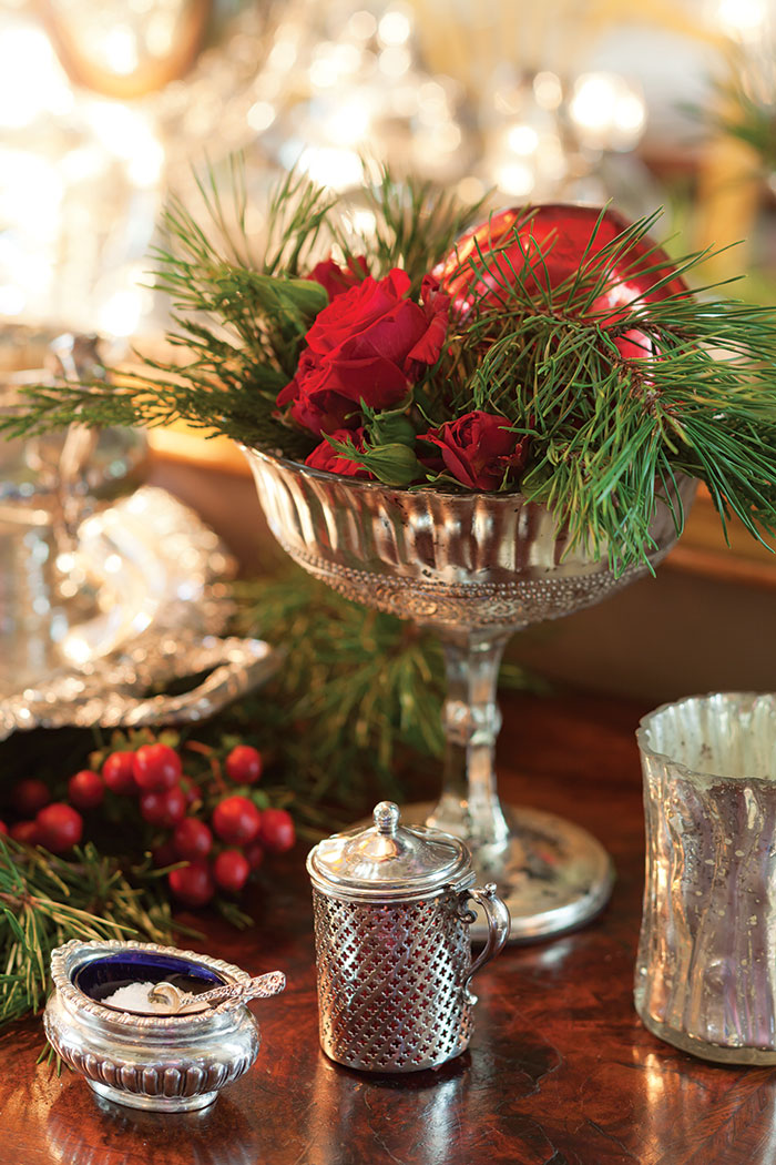 Elegant Christmas Tablescape  The Cottage Journal