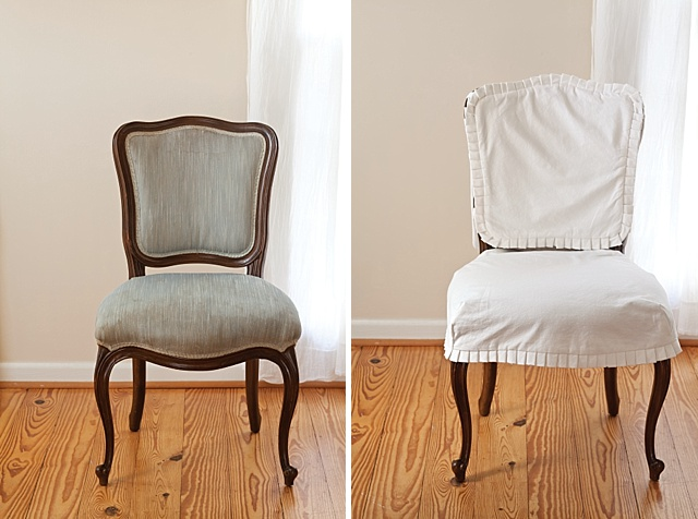 slipcover for armless slipper chair rubber feet bunnings 3 decorative makeovers - the cottage journal