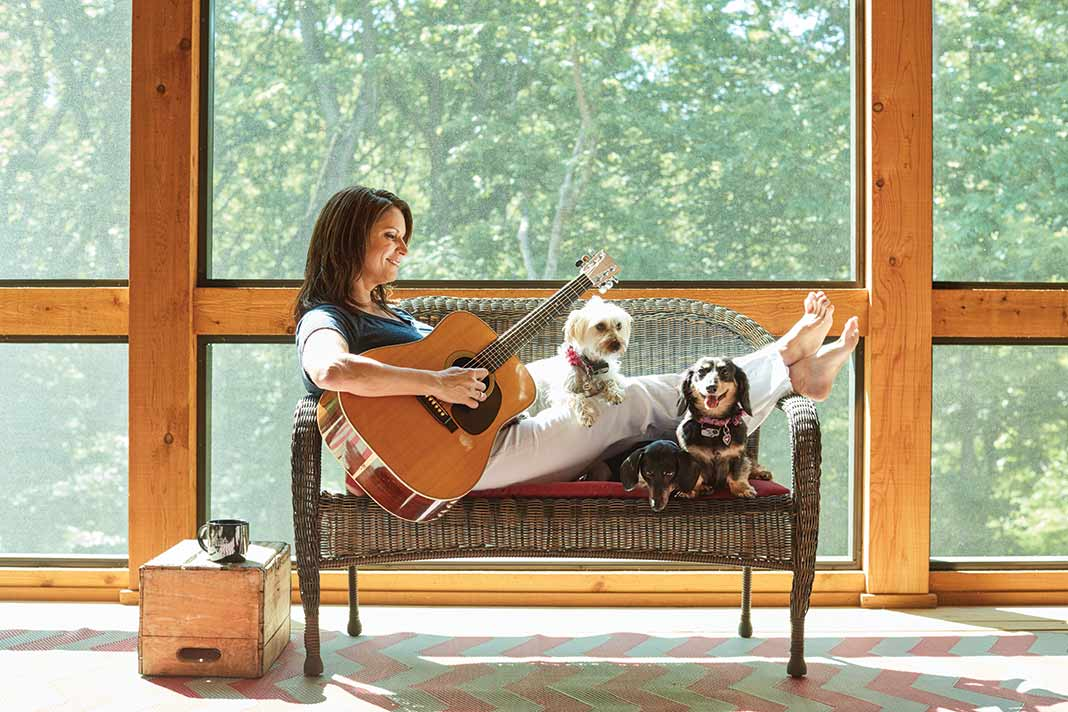Hitting the Right Notes Reclaimed Style with Terri Clark  The Cottage Journal
