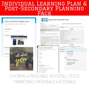 https://www.teacherspayteachers.com/Product/Individual-Learning-Plan-ILP-Post-Secondary-Plan-PSP-Forms-Autofill-Docs-3308206