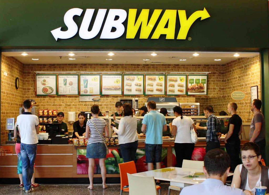 Top Five Fast Food Restaurants