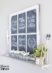 Old Window Crafts: What Will You Make? - The Country Chic ...