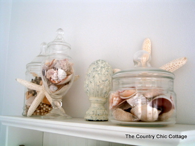 Beach Theme Home Decor for the Bathroom  The Country Chic Cottage