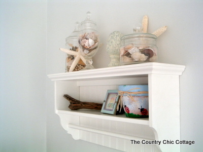 Beach Theme Home Decor For The Bathroom The Country Chic