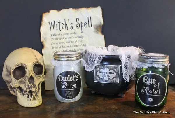country kitchen ideas on a budget essential tools for the macbeth halloween decor - chic cottage