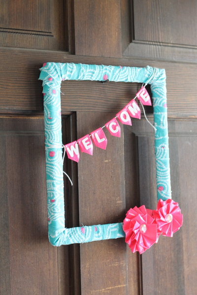 Duct Tape Flowers Wreath For Summer The Country Chic Cottage