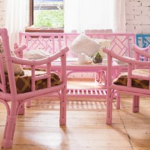 decorating with indoor wicker furniture