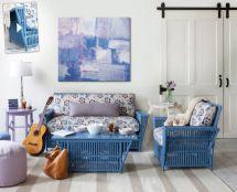 wicker furniture indoors