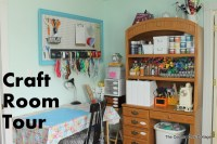 My Craft Room Tour and tons more next week! - The Country ...