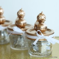 Baby Shower Mason Jar Favors - The Country Chic Cottage