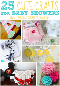 25 Baby Shower Crafts - The Country Chic Cottage