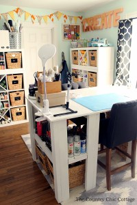 My Craft Room plus MORE Craft Room Tours - The Country ...