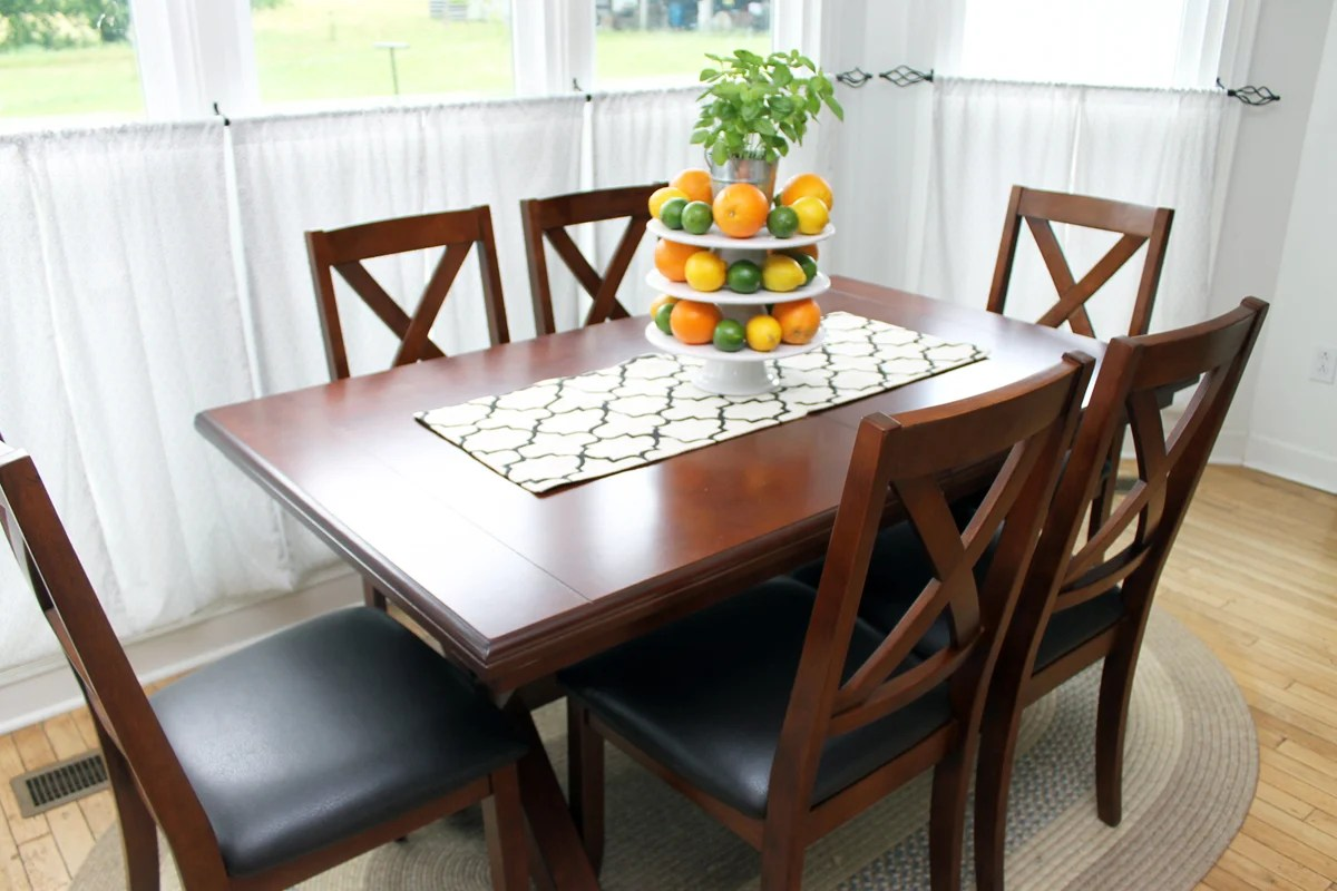 monarch double x back dining chairs face down beach chair farmhouse table a new addition the country chic cottage