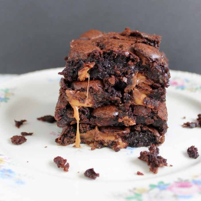 Rolo Brownies Recipe The Ultimate In Chocolate Dessert
