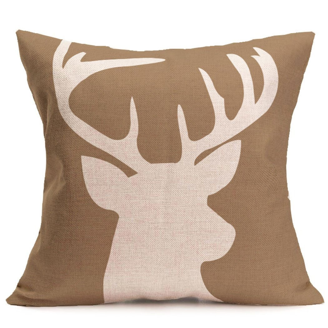 deer print sofa covers tufted set cheap farmhouse decorating ideas under 10 the country chic