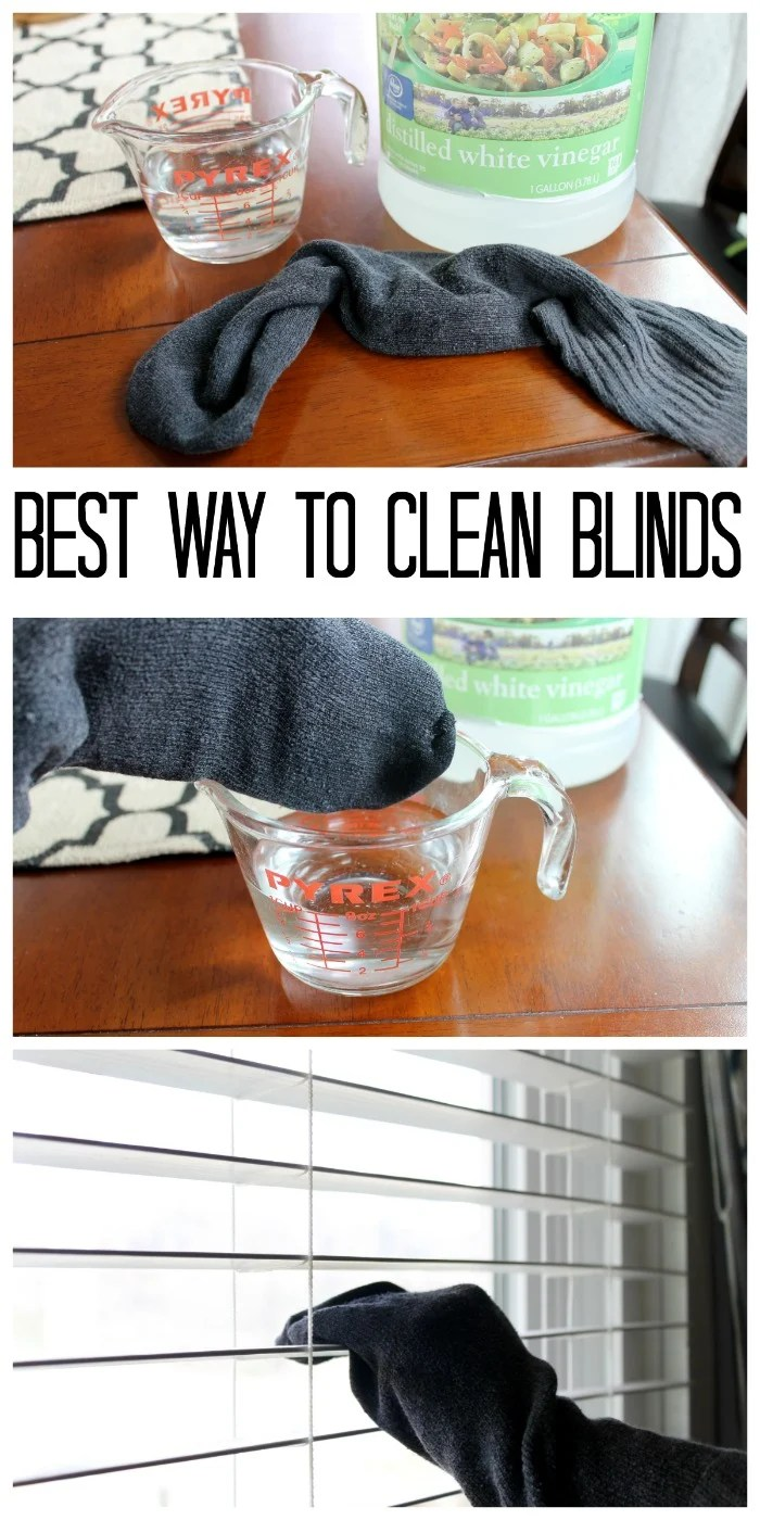 The Best Way to Clean Blinds Naturally  The Country Chic Cottage