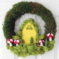 Spring Wreath Ideas: A Fairy Garden on Your Door - The ...