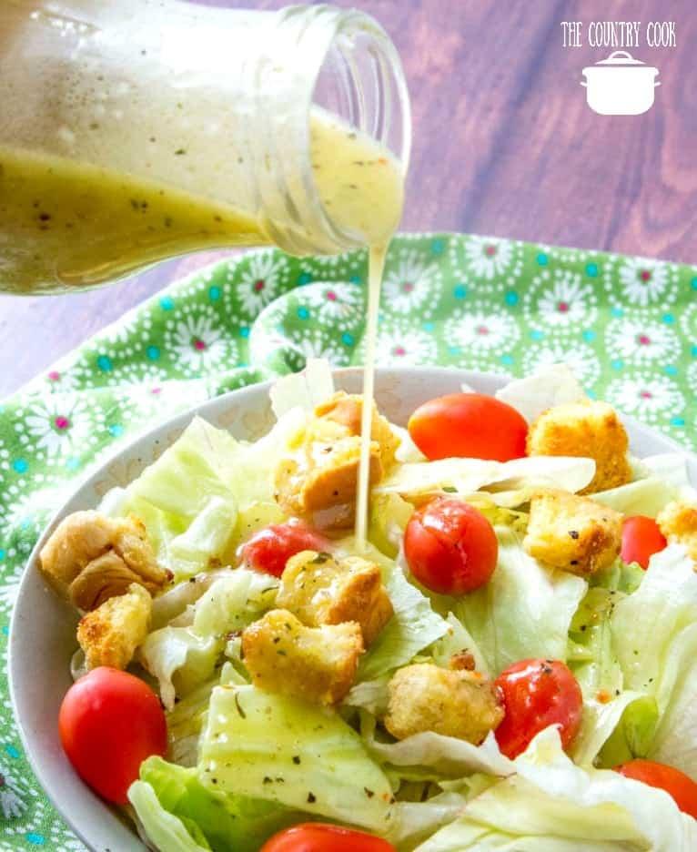 olive garden salad dressing video