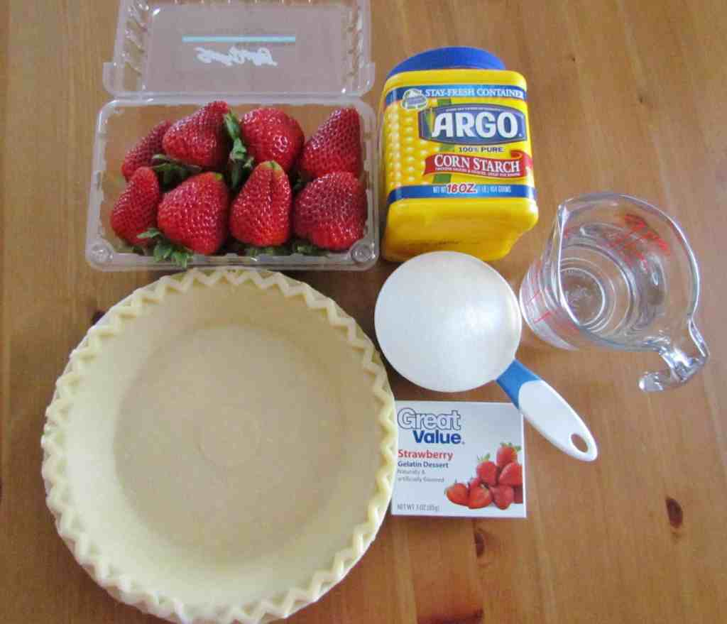 Copycat Shoney's Strawberry Pie