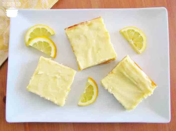 Creamy Cream Cheese Lemon Bars