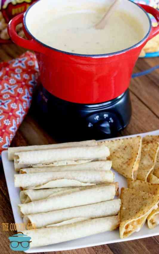 Crock Pot White Queso Dip recipe