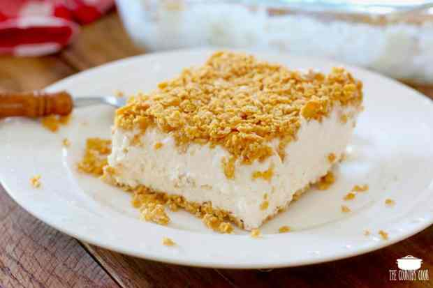 Fried Ice Cream Cake, slice